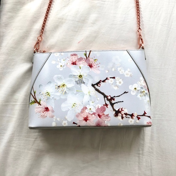 488ad25db5 Ted Baker London Bags | Floral Ted Baker Purse Brand New Sky Blue ...